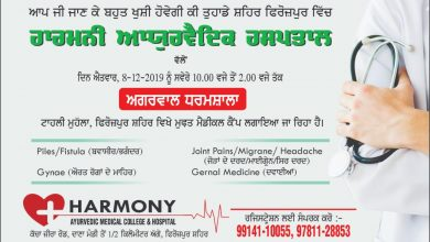 Photo of Free Medical Camp by Harmony Ayurvedic Hospital at Ferozepur