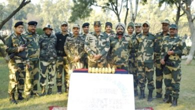 Photo of BSF seizes 4 kg heroin in Abohar Sector