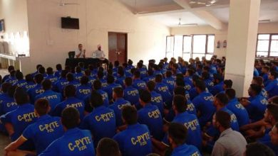 Photo of C-PYTE trained 262 youths aspirant to join Army