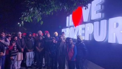 Photo of MLA Pinki inaugurates Selfie Point-I Love Ferozepur on New Year's Day