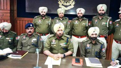 Photo of Police bust looters' gang in Ferozepur, arrest 4 accused