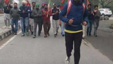 Ferozepur youth sets journey to Delhi on foot to join agitation against 3-contentious Farm Laws