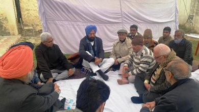 Rana Sodhi condoles death of former Cabinet Minister Pt Bal Mukand Sharma